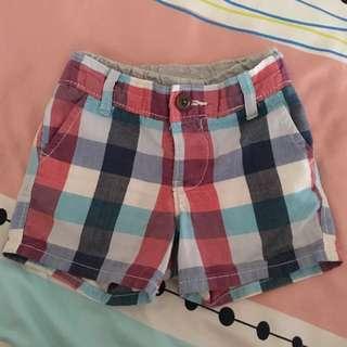 Baby Gap Checkers Short Pants
