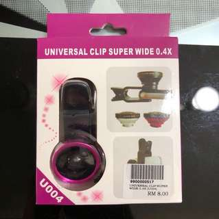 Universal clip super wide 0.4x
