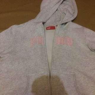 jacket puma grey
