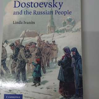 [BN] Dostoyevsky and the Russian people (Cambridge University Press)