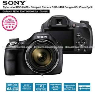 SONY Cyber-shot DSC-H400 - Compact Camera H400 63x Optical Zoom (Resmi Sony)