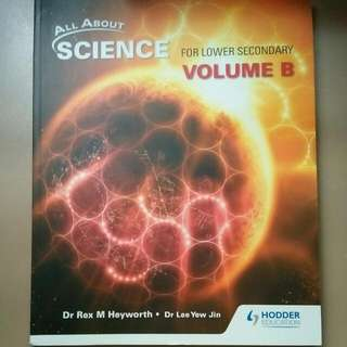 All About Science Lower Secondary Volume B