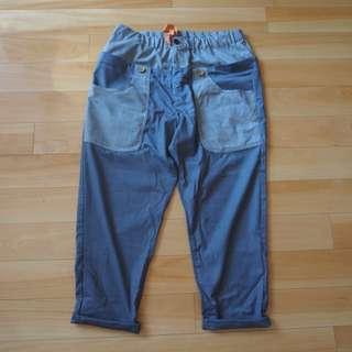 日本正品Frapbois男裝灰色布褲