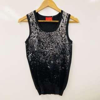 Lanvin crystal prints vest size S