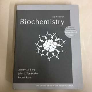 Biochemistry 生物化學  #好書新感動