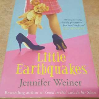 Little Earthquakes PaperbackEnglish  By (author)Jennifer Weiner
