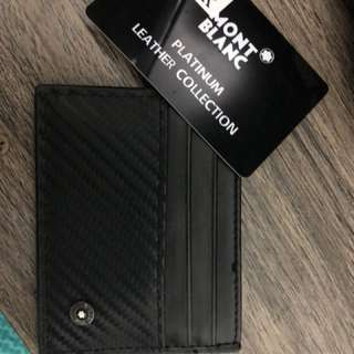 Mont Blanc wallet authentic