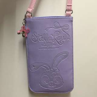 Disney StellaLou Phone Case 手機套(紫色/手提款)iphone6+/7+/8+