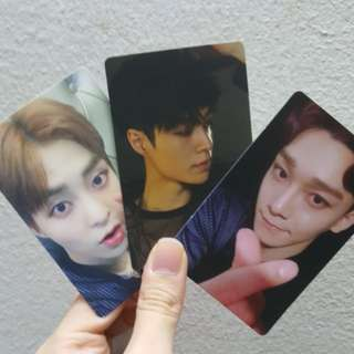 EXO 5th Anniversary Photocard