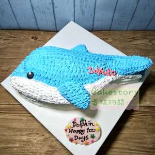 Dolphin cake 海豚蛋糕