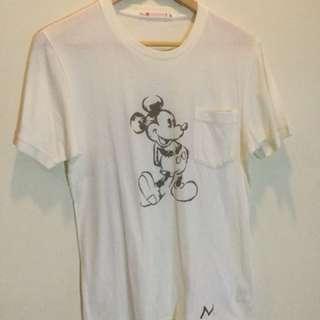 Uni Qlo Mickey Mouse Tee