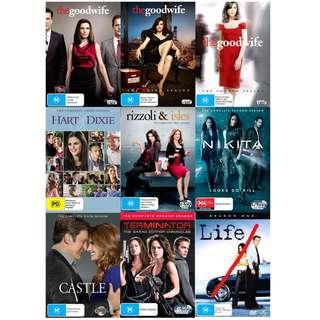 TV Series Box Sets DVD Brand New/Sealed Region 4