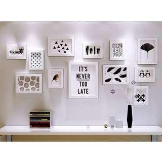 Set of Wall Frames
