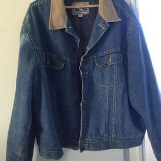 Vintage Lee storm riders denim jacket