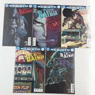 All Star Batman My Own Worst Enemy Comics Set