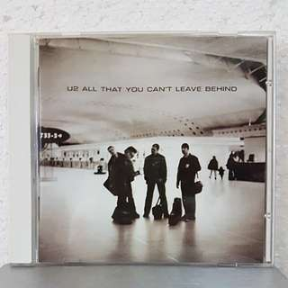 CD》U2 - All That You Can't Leave Behind