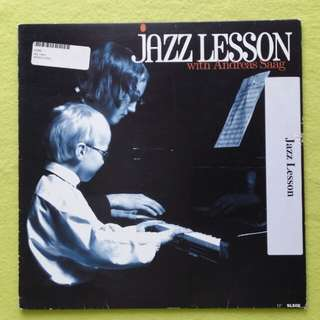 ANDREAS SAAG. jazz lesson. Vinyl record