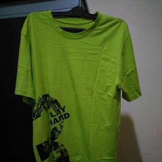reebok tee (green)
