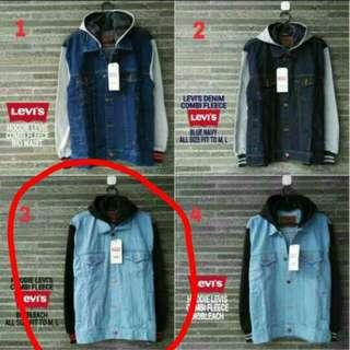 Jaket biowash/jaket boy ukuran L