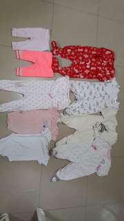 Infant set from us bale