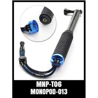 Aluminium Monopod Extendable Selfie Self Stick Pole for GoPro Hero 2 3 4 5 Dive Telescopic Floating Waterproof Extension Handle