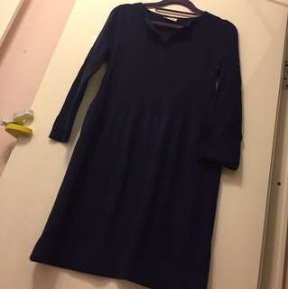 Sample sweater dress size S