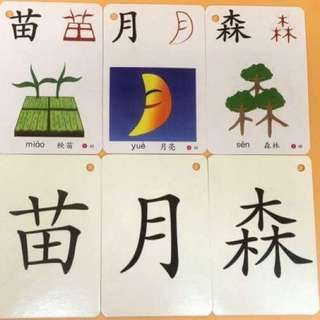 🎈 Innovative Picture Literacy Chinese flash cArd