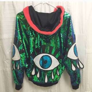 THIRD EYE SEQUIN JACKET
