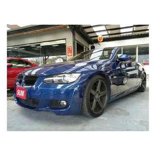 2007年BMW 335CIC 藍 硬頂敞篷