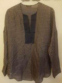 Massimo Duttu women blouse tops size 34