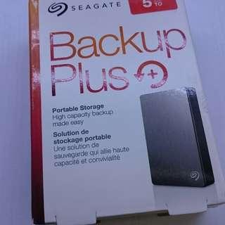 Seagate Backup Plus Slim 5tb