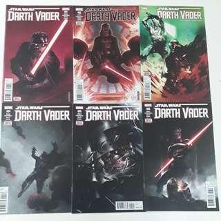 Star Wars Darth Vader Imperial Machine Comics Set