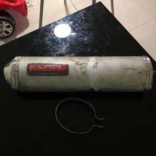G.P.R exhaust pipe ( gilera runner )