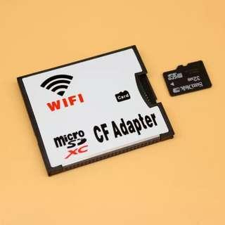 Micro SD TO CF+WIFI Adapter