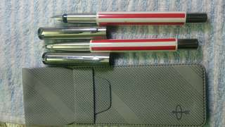Parker fountain pen and ballpoint