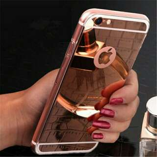 MIRROR JELLY CASE for iPhone 5, 5s, SE, 6, 6+, 6s, 6s+, 7, 7+, 8, 8+, x