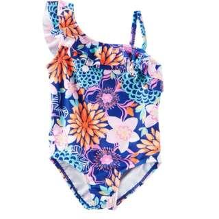 OshKosh Floral Print Swimsuit