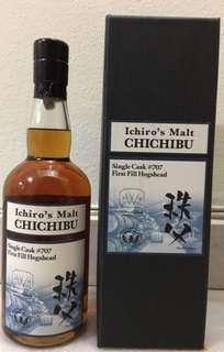 ChiChibu Hogshead First Filled Cask#707