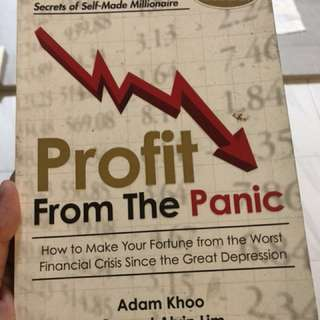 Profit from the panic - Adam khoo