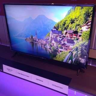 49 inch LG smart led tv 49LJ5500