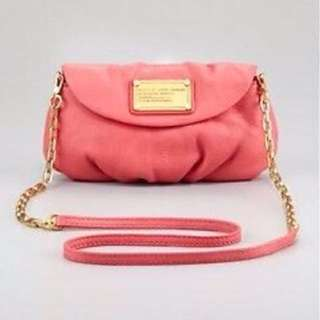 Authentic Pink Marc Jacobs crossbody