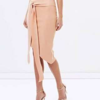 BEC & BRIDGE Rosetta crop and midi skirt set