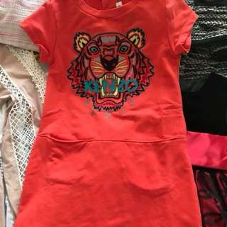 Authentic Kenzo dress size 4T