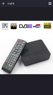 DVB-T2 Receiver Decoder Box 1080P (PreOrder)