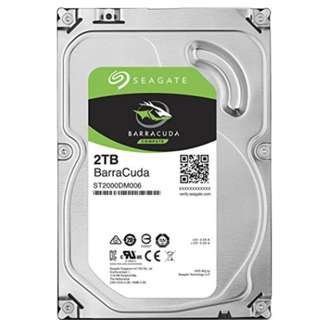 Seagate 2TB BarraCuda SATA 6Gb/s 64MB Cache 3.5-Inch Internal Hard Drive