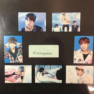 [OFFICIAL] BTS WINGS TOUR MINI PHOTO CARD VER.1