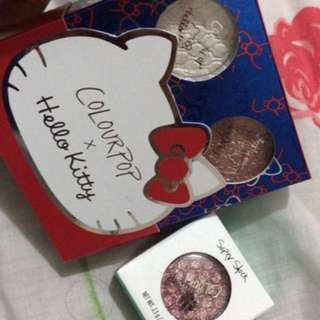 Colourpop Eyeshadow X Hello kitty