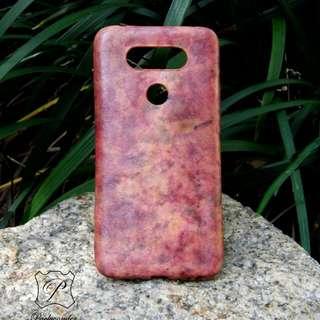 LG LV20 純皮革手製 手機殼 手機套 leather phone case cover handmade DIY