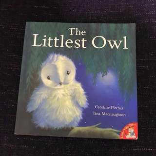 Children's Story Book - The Littlest Owl