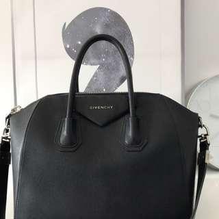 Black Givenchy Medium Black Antigona Bag